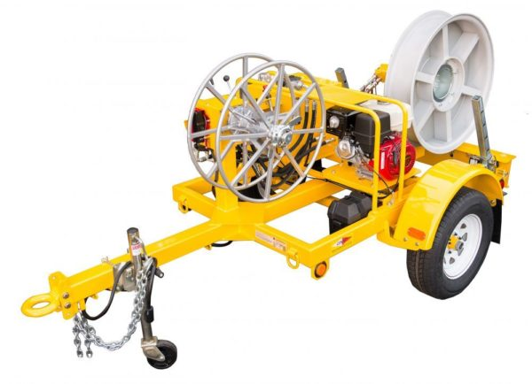 GMP Sidewinder Cable Puller Trailer